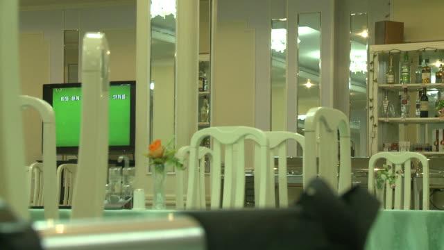 A restaurant in North korea
