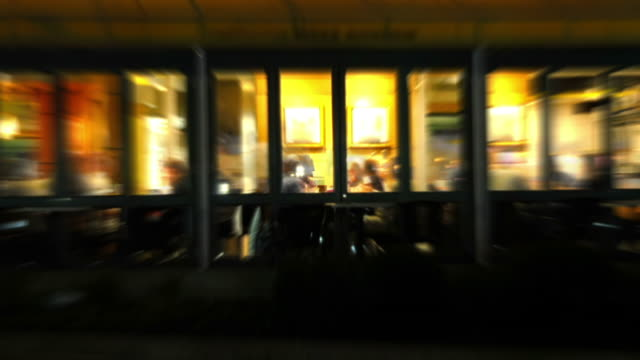 Restaurant Nightlife Time Lapse Loop