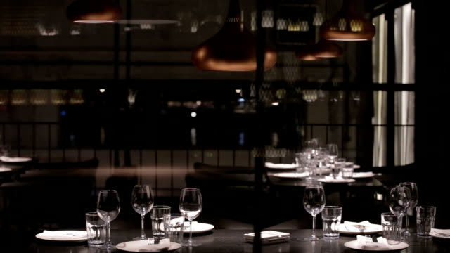 ristorante  - ristorante video stock e b–roll