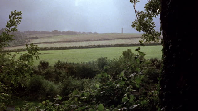 1979 montage restoring and recreating mined land with parks, lake, trees, farms, and farm animals / yorkshire, england, united kingdom - yorkshire england stock videos and b-roll footage