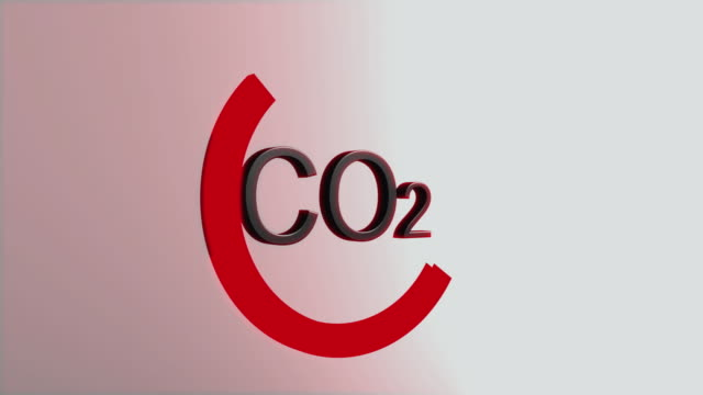 Cgi Cu Restrictive Sign Formed In Front Of Carbon Dioxide Chemical