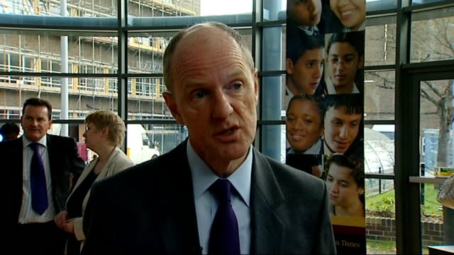 record number of passes in 2010 results; london: int nick gibb mp interview sot - saying objective is to close attainment gap to give equal... - general certificate of secondary education stock videos & royalty-free footage