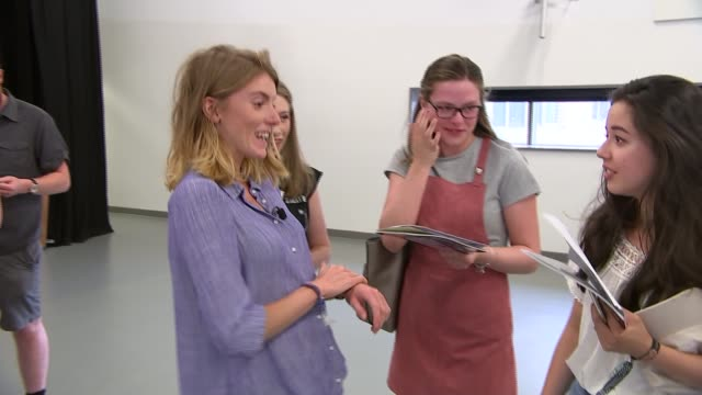 results show decline in grades achieved; england: london: twickenham: orleans park school: int general view students loking at gcse results beth... - general certificate of secondary education stock videos & royalty-free footage