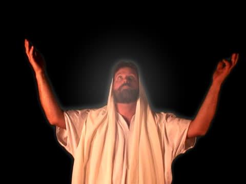 resurrected christ - resurrection religion stock videos & royalty-free footage