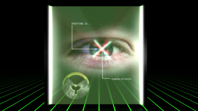 retina scanner countdown - retina stock videos and b-roll footage