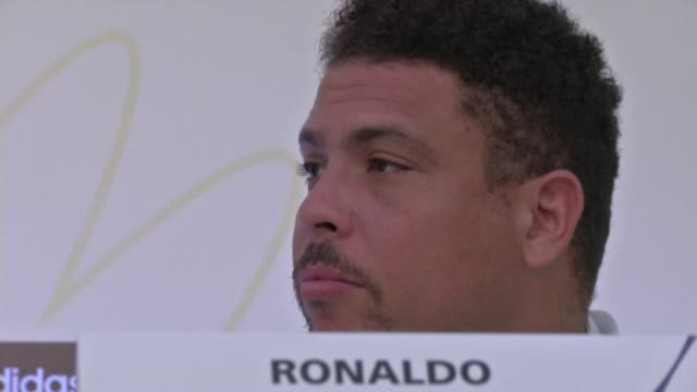 retired brazilian footballer ronaldo expressed on monday his support for the protesters who took to the streets during the two weeks of the... - sportweltmeisterschaft stock-videos und b-roll-filmmaterial