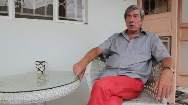 retired british man who will appear in a ugandan court monday on charges of trafficking obscene publications after police found private pictures of... - kampala stock-videos und b-roll-filmmaterial