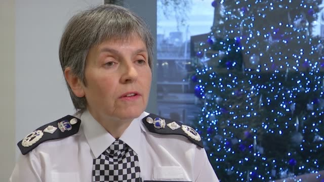 Retired police officers who've spoken publicly about Damian Green pornography could be prosecuted ENGLAND London INT Cressida Dick interview SOT
