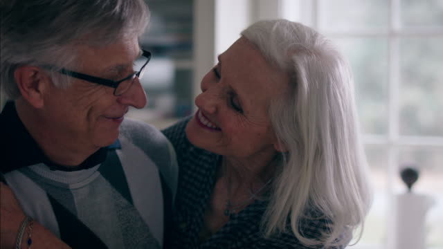 retirees at home - senior couple stock videos & royalty-free footage