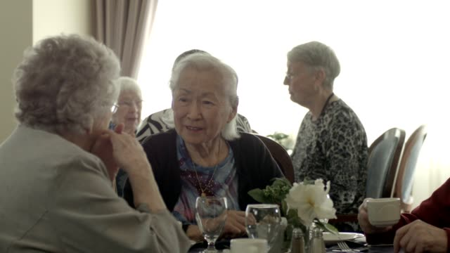 retirement home - sheltered housing stock videos & royalty-free footage