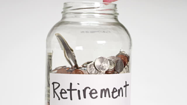 retirement income - retirement stock videos & royalty-free footage