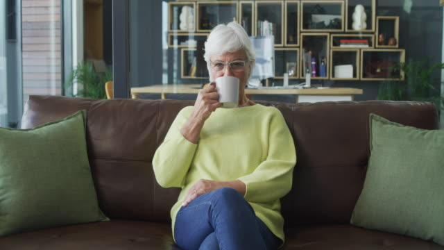 retirement is one awesome tea break - senior women stock videos & royalty-free footage