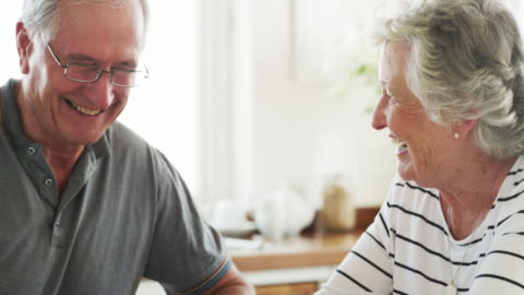 retirement sits well with them - husband stock videos & royalty-free footage