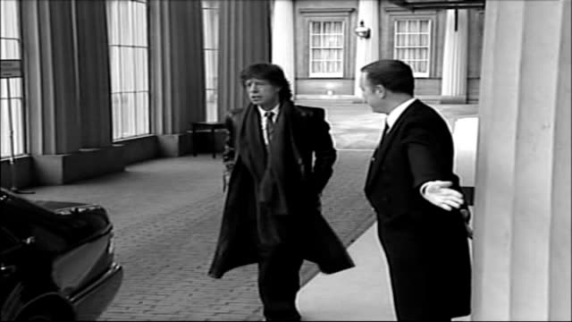 retirement villages for the elderly tx london buckingham palace ext sir mick jagger arriving at palace to receive knighthood tx 2741995 london night... - paul mccartney stock videos and b-roll footage