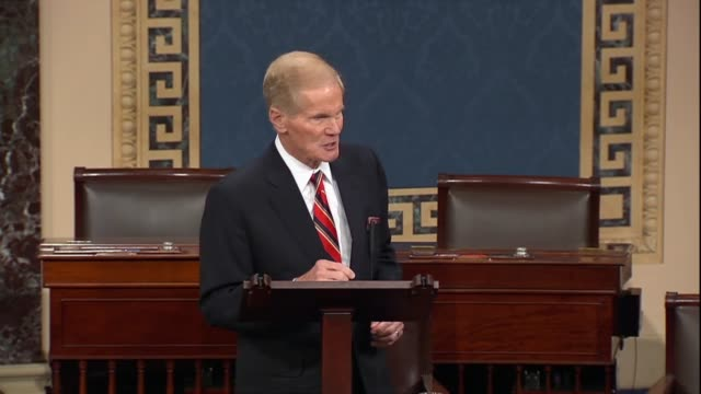 retiring florida senator bill nelson says in his farewell that a fourth launch attempt is an astronaut in nasa was called off but another attempt... - last stock videos & royalty-free footage