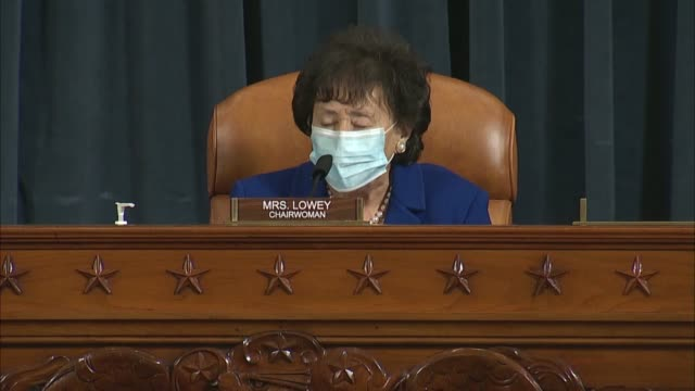 vidéos et rushes de retiring house appropriations chairwoman nita lowey of new york gavels in her final full committee markup on fiscal 2021 bills thanking all for kind... - se faire dorloter