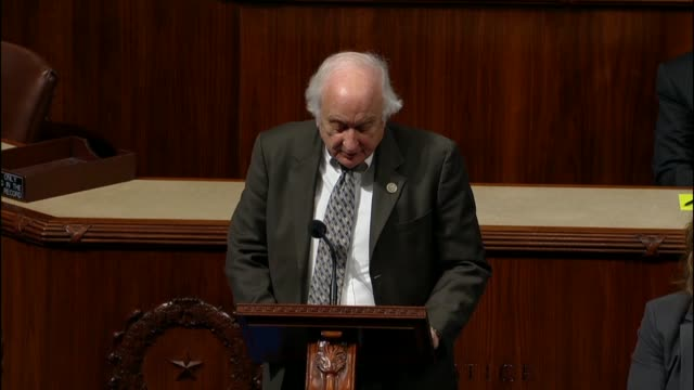 retiring michigan congressman sander levin engages debate on the tax cuts and jobs act, arguing that it all is 35 years in congress the bill was one... - middle class stock videos & royalty-free footage