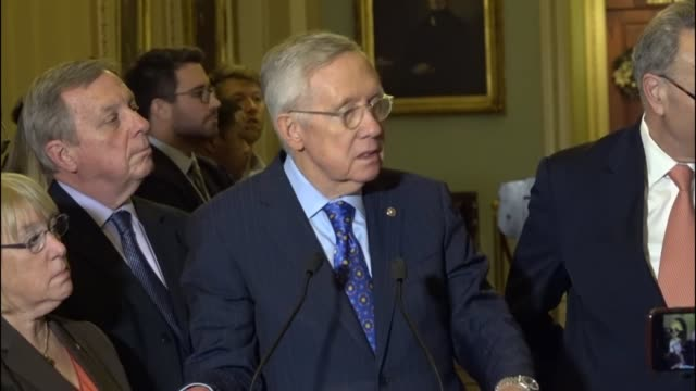 Retiring Nevada Senator Harry Reid says at his last press conference as Leader that he has seen change in many different ways though he will not...