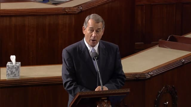 Retiring Speaker of the House John Boehner delivers his final address to the House saying he has no regrets Says he is just a regular guy humbled by...