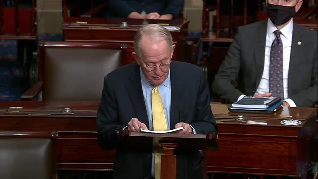 retiring tennessee senator lamar alexander says in his last floor speech to the senate that country needs the senate to work across party lines to... - alligator stock videos & royalty-free footage