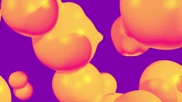 Retro abstract fluid background with morphing colorful backdrop