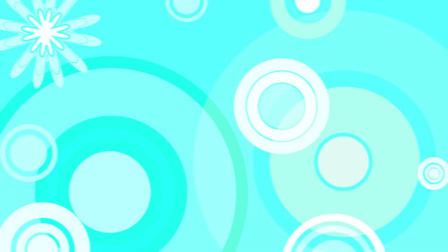 Retro Blue Background Loop