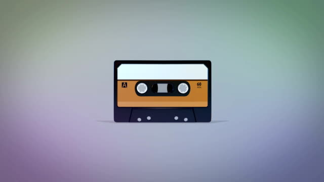 retro cassette zoom - personal stereo stock videos & royalty-free footage