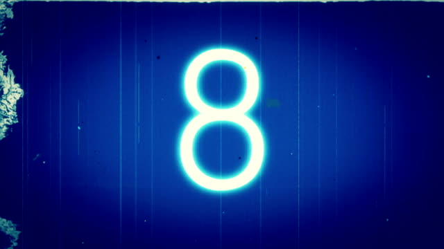 Retro Film Countdown.