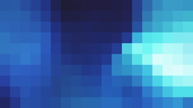 retro-stil pixelig hintergrund - quadratisch komposition stock-videos und b-roll-filmmaterial