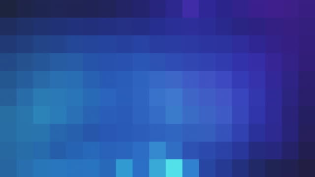 retro-stil pixelig hintergrund - quadratisch zweidimensionale form stock-videos und b-roll-filmmaterial