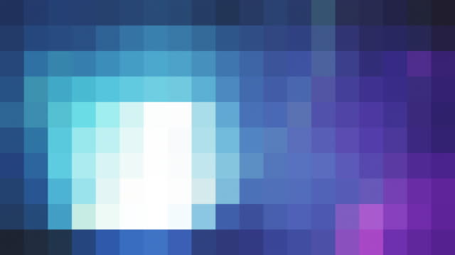 retro styled pixelated background - pixellated stock videos & royalty-free footage