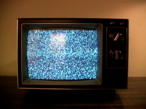retro television & static - television static stock videos and b-roll footage