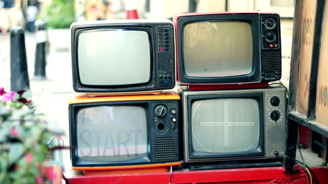 retro tv countdown hd - obsolete stock videos & royalty-free footage