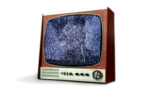 retro tv static transition. hd - film editing stock videos & royalty-free footage