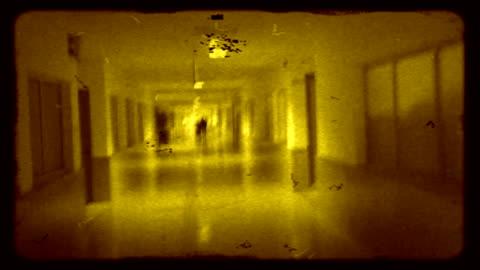 retro walk hd - 8mm film projector stock videos & royalty-free footage