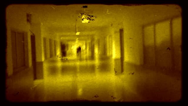 レトロなウォーク hd - 8ミリフィルム映写機点の映像素材/bロール