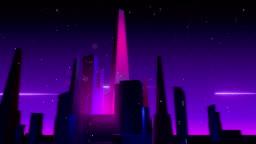 VJ Retro-Futuristic City