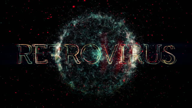 Retrovirus Titel animation