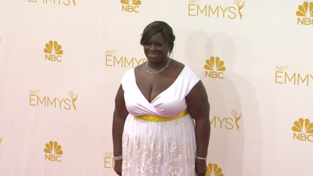 Retta 66th Primetime Emmy Awards Photo Room at Nokia Theatre LA Live on August 25 2014 in Los Angeles California