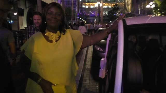 Retta greets fans at Comic Con in San Diego in Celebrity Sightings at Comic Con
