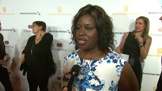 INTERVIEW Retta on honoring the Kings tonight on supporting this event on her new adopted healthy lifestyle at 30th Anniversary Sports Spectacular...
