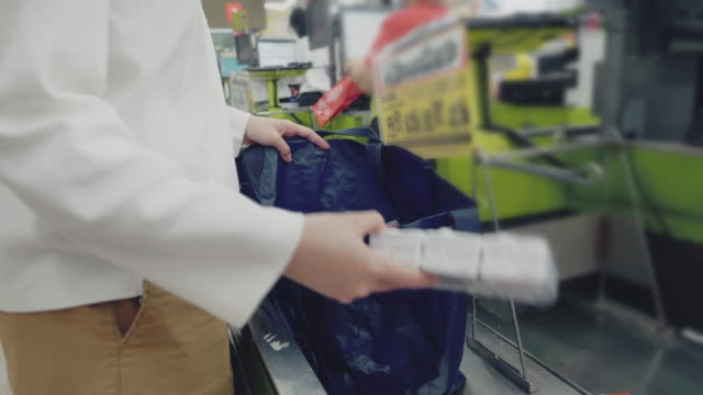 a reusable bag is still a bag - reusable bag stock videos & royalty-free footage