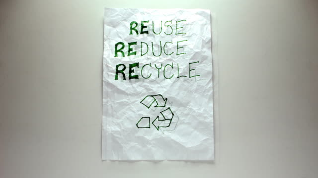 reuse paper - (stop-motion) - demolished stock videos & royalty-free footage