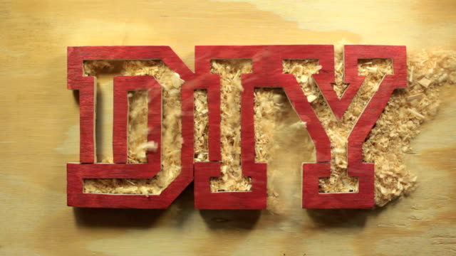 diy reveal hd - sawdust stock videos and b-roll footage