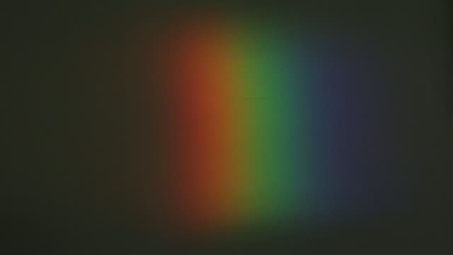 reveal of colour spectrum at newton's former home - prism stock videos & royalty-free footage