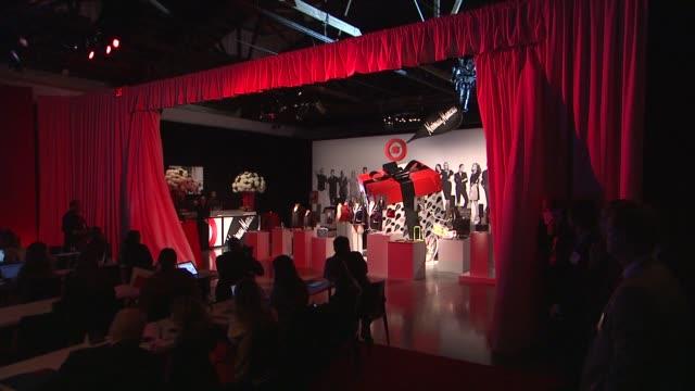 vídeos y material grabado en eventos de stock de reveal of holiday collection at target + neiman marcus holiday collection event on october 16, 2012 in new york, new york - neiman marcus