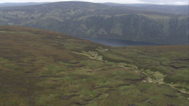 revealing loch muick - aberdeenshire stock videos & royalty-free footage