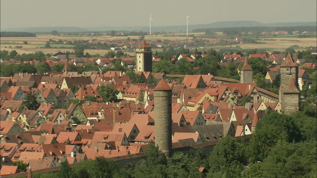 revealing rothenburg - rothenburg stock videos and b-roll footage