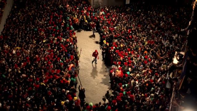 ESP: The Catalan Festival of 'La Patum'