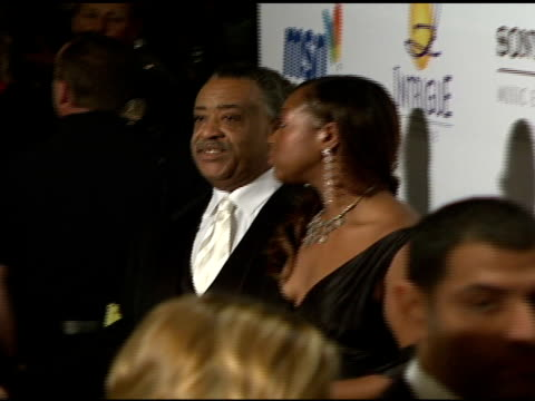 reverend al sharpton at the clive davis 2008 pregrammy awards party at null in beverly hills california on february 9 2008 - al sharpton stock videos & royalty-free footage